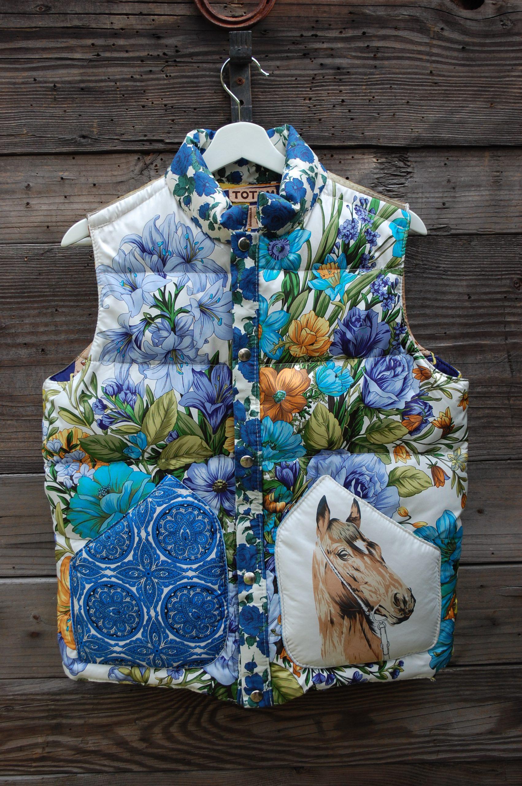 hooded vest psy vest hippie vest Felted vest one of a kind vest hand felted clothes